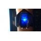 V Edition miesten sininen LED silikoni rannekello päivämäärä toiminnolla (musta)