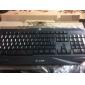 profissional teclado USB com fio de jogo luminoso impermeável a9