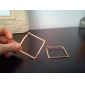 링 귀걸이 진술 보석 섹시 합금 Circle Shape Square Shape Geometric Shape 골드 실버 보석류 용 일상