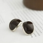 Women's  Phnom Penh Mellow Coffee Bean Earrings E153