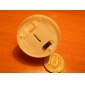 1PCS светодиод желтый свет Свеча форменное Партии питания Свадебные украшения (4.5x3.9x3.9cm)