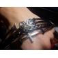 Cross Bracelet Infinity Love Leather Bracelet Rope Infinite Bangle black Men Women Couple Christmas Gifts