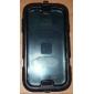 Aftagelig bælteklips Hard Case med Stand og Spejl beskyttelses film til Samsung Galaxy S4 I9500 (assorterede farver)