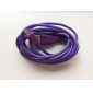 2m V8 Micro USB Tenacity Nylon Round Data Cable for Samsung and Other Phone