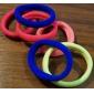 (6pc) mais cores de alta elástico grosso cabelo corda durável (cor aleatória)
