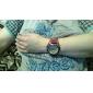 Armbandsur med Quartz och PU-läderband - Röd