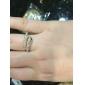 Кольца Свадьба / Для вечеринок / Повседневные Бижутерия Хрусталь / Сплав Женский Массивные кольцаРегулируется