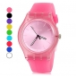 Women's Watch Simple Style Candy Color Silicone Band Cool Watches Unique Watches Fashion Watch Strap Watch