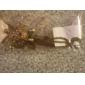 Feminino Colares com Pendentes Formato Animal Tartaruga Cobre Strass Moda Estilo bonito Europeu Jóias de Luxo Jóias Para Diário 1peça