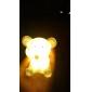 Schattig muisvormig kleurrijk LED-nachtlampje (3xLR44)