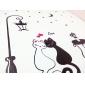 ночь любители фонарь кошка рисунок пвх поделки обоев