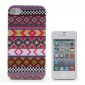 Beskyttende hardt etui til iPhone 4/4S med stripemønster