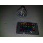 E26/E27 3 W 1 High Power LED 150 LM RGB / Color-Changing MR16 Remote-Controlled Spot Lights AC 100-240 V