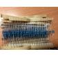 Металлические, пленочные резисторы сопротивления, 400шт. 1 / 4W