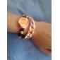 Reloj de Muñeca para Mujer de Cuarzo con Estilo Casual y Correa de Aleación