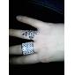 Women's Shining Full Rhinestone Adjustable Ring