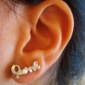 Stud Earrings Pearl Imitation Pearl Alloy Silver Golden Jewelry Wedding Party Daily Casual