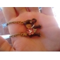 Korean jewelry pearl flowers elephant sweater chain necklace N284
