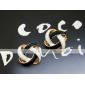 Жен. Серьги-гвоздики Базовый дизайн Простой стиль Вырезка бижутерия Сплав Бижутерия Бижутерия Назначение Повседневные