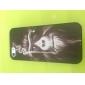 Smoking Monkey Pattern Hard Plastic Case for iPhone 5S/5