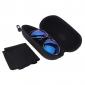 OREKA синий лазерный Смола объектива поляризованных солнцезащитных очков Серебряный кадр вождения