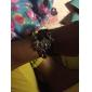 eruner® 여성의 다층 합금 사랑 새 생명 나무와 무한대 수제 가죽 팔찌
