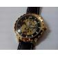 SHENHUA® Men's Water Resistant Style Analog PU Mechanical Wrist Watch (Assorted Colors) Cool Watch Unique Watch Fashion Watch