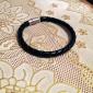 Браслеты Кожаные браслеты Кожа Хип-хоп Повседневные Бижутерия Подарок Черный,1шт
