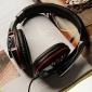 senic g-927 3,5 milímetros oi-fi gaming headset estéreo com microfone para laptop pc