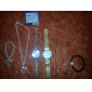 Ожерелья / Браслеты(Серебрянное покрытие) -Для вечеринок / Повседневные