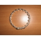 berlian buatan putih gelang mutiara wanita