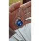 Silver Pendant Necklaces Alloy / Glass Wedding / Party / Daily / Casual Jewelry