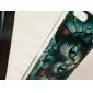 Retro Cat Cartoon Pattern PC Hard Case for iPhone 5C