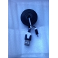 Micro USB to USB Male to Male Data Cable for Samsung/Huawei/ZTE/Nokia/HTC/Sony Ericson  Flat Type Black(1M)