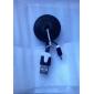 Micro USB vers USB mâle à mâle câble de données pour Samsung / Huawei / ZTE / Nokia / HTC / Sony Ericson Type Noir Plat (1M)