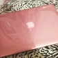 Solid Color PC Hard Case with Crystal for MacBook Pro Retina 13