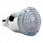 12-LED Vandtemperatur Visualizer Sensor Round Shower Head