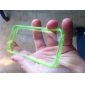 XUNDD Solid Color TPU Transparent Set of Cases Non-Slip Soft Case for iPhone 4/4S