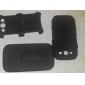 삼성 갤럭시 S3 I9300를위한 스탠드와 클립 스트랩 클램프 드롭 저항 갑옷 보호 재킷