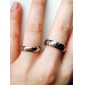 Women's Couple Rings Engagement Ring Love Bridal Stainless Steel Heart Jewelry For Wedding Party Birthday Engagement Gift Daily Valentine