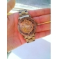 SHENHUA 남성용 손목 시계 오토메틱 셀프-윈딩 중공 판화 스테인레스 스틸 밴드 브론즈