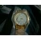 Women's Fashion Rhinestones Arabic Number Steel Belt Quartz Wrist Watch(Assorted Colors) Cool Watches Unique Watches Strap Watch