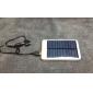5000mAh tragbare Solar-Ladegerät USB externe Batterie für iPhone, Handys
