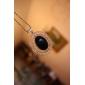 eruner®vintage полый черный драгоценный камень ожерелье