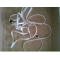 1pcs/lot 3M Noodle Style Micro USB Data Sync Charger Cable for Samsung / HTC / LG / Sony / Nokia