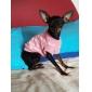 Коты / Собаки Свитера Розовый Одежда для собак Зима Сердца Сохраняет тепло