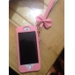 Trendy Princess Style PU Leather Protective Case with Bowknot Strap for iPhone 5/5S/5C
