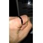 Lureme®Fashion Men's Band Ring(Silver)(1 Pc) Christmas Gifts