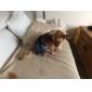 Cães Calças Azul Roupas para Cães Verão Primavera/Outono Jeans Vaqueiro Da Moda
