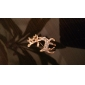 Women's  Beautiful sparkling deer diamond brooch X28
